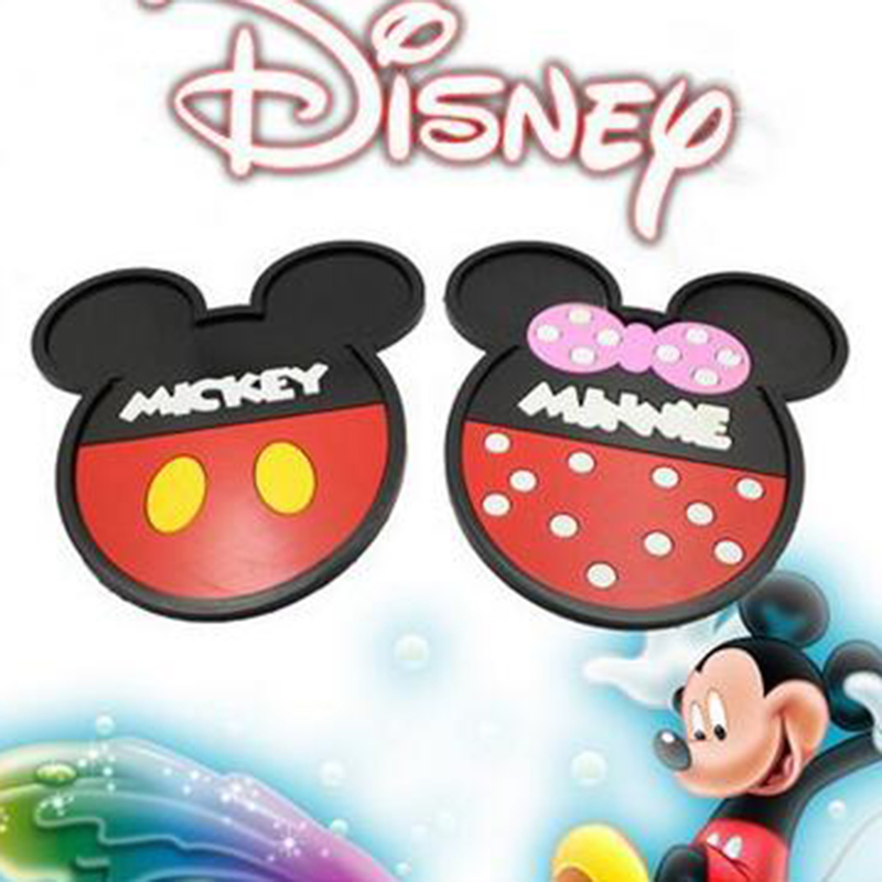 New Design Cartoon animation Mickey Mouse Car Dashboard Minnie Non slip Mat Phone Holder Car Accessories