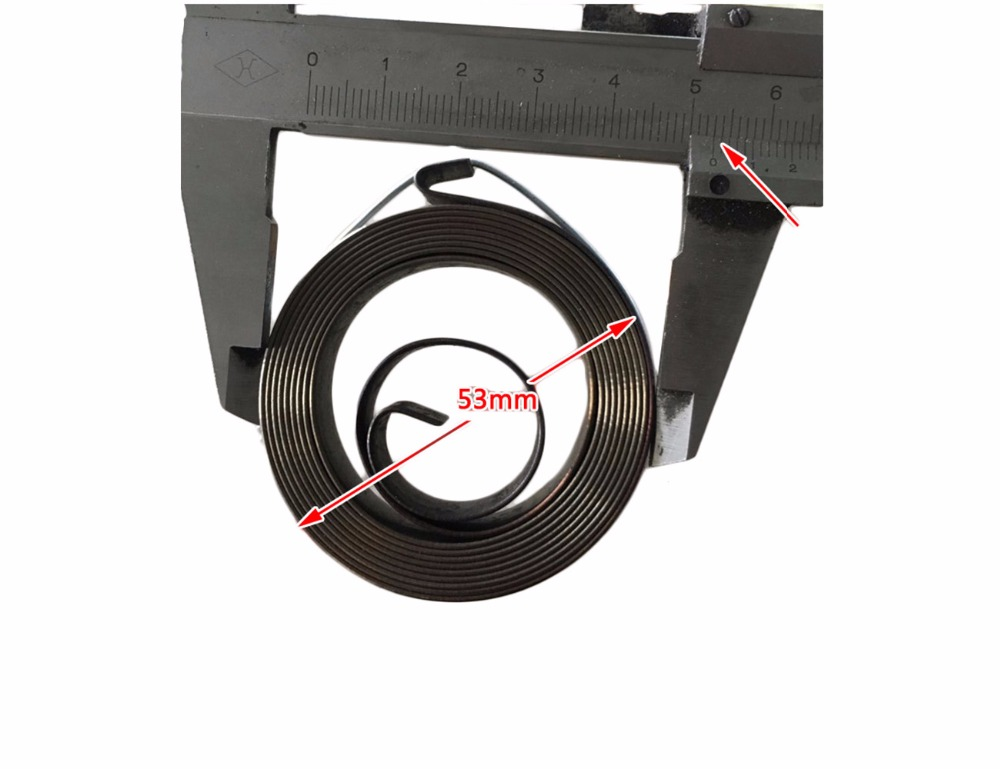 customized steel ribbon coil volute spiral flat spring spring,constant force spring
