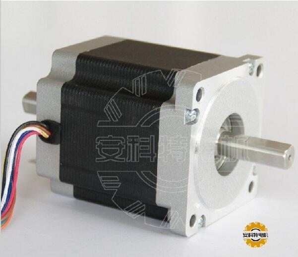 ACT Motor 1PC Nema34 Stepper Motor 34HS9820B 890oz-in 98mm 2A 8-Lead Dual Shaft CE ISO ROHS CNC Router US DE UK IT FR JP Free act motor 1pc nema34 stepper motor 34hs9820b 890oz in 98mm 2a 8 lead dual shaft ce iso rohs cnc router laser plasma engraving