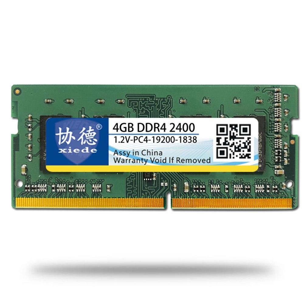 Module mémoire PC portable DDR4 2400 16G/4G/8G PC4-19200 Compatible avec le processeur Intel et le processeur AMD