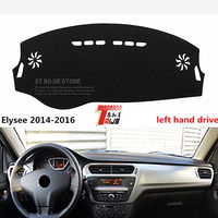 TAIJS New ARRIVAL Car Dashboard Pad Cover Left Hand Drive For Citroen Elysee 2014 2016 Lucifuge