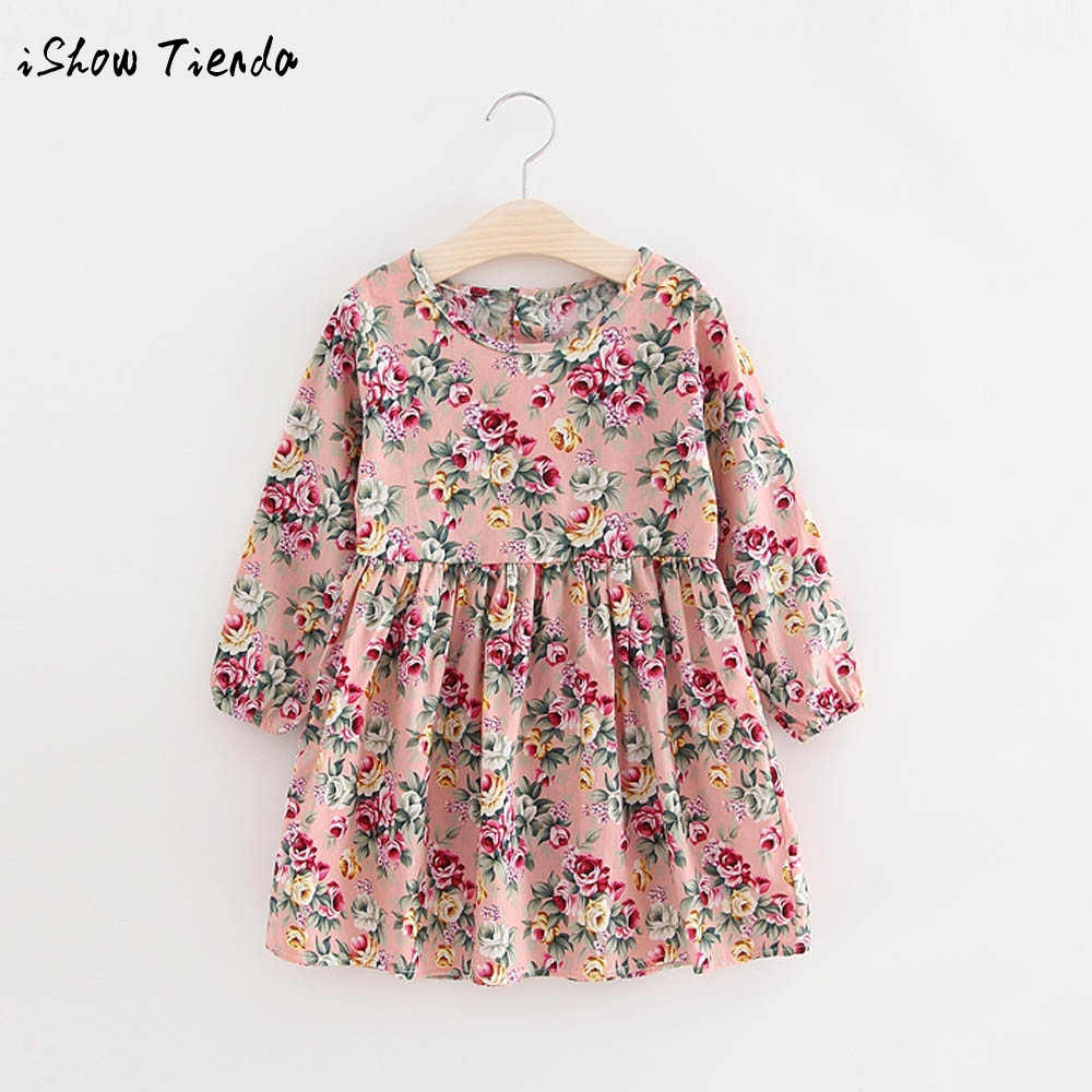 Summer Baby Kids Dresses Children Girls Long Sleeve Floral Princess Dress Spring Summer Dress Baby Girls Clothes dress for girls music hall integrated bluetooth el34 vacuum tube amplifier audio hifi stereo headphone amp handmade scaffolding aluminum panel