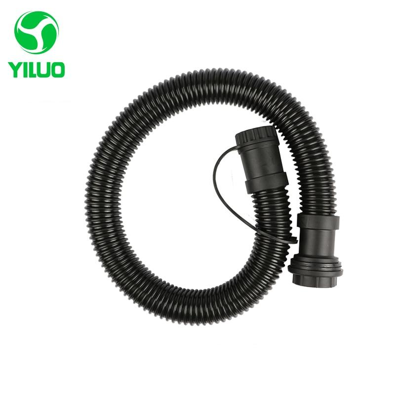 Acheter Diamètre intérieur 32mm Noir Haute Température Flexible EVA Tuyau + ABS connecteur De Aspirateur Industriel et tuyau de vidange de eva hose fiable fournisseurs