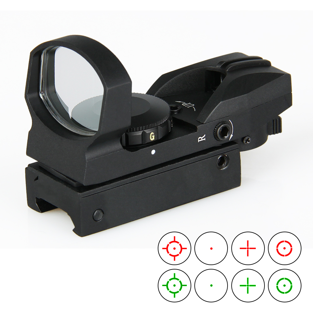 PPT 1X33 Red And Green Dot Reflex Sight Magnification 1X RedDot For Hunting Shooting Gs2-0073