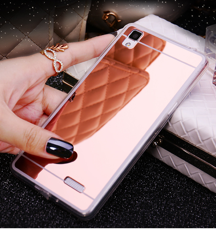 Tpu Mirror <font><b>Case</b></font> for <font><b>Oppo</b></font> F5 F3 R11 <font><b>F1</b></font> R11S Plus R7 R7S R9S R9 Plus A83 A77 A79 A71 A57 A35 A51 A31 A35 A37 Back Cover Soft <font><b>Cases</b></font> image