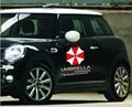 40*40 CM personalizada envío libre Resident Evil Umbrella Corporation coche puerta lateral cuerpo reflexivo Decal sticker Styling