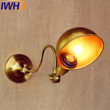 Retro Lamp Loft Industrial Wall light Edison Wall Sconce,60W Vintage Walll Fixtures Arandela Lamparas De Pared rh american country vintage wall lamp lights fixtures glass ball retro loft industrial wall sconces wandlamp arandela de parede