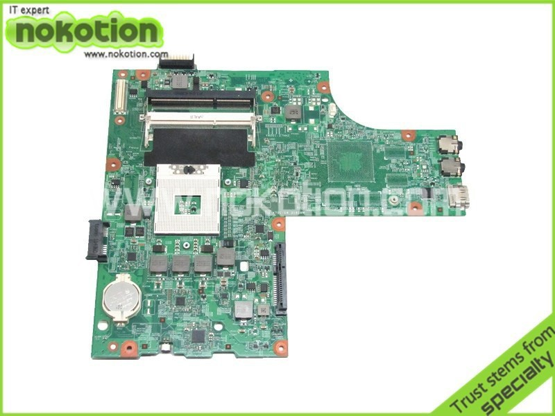 NOKOTION CN-0Y6Y56 0Y6Y56 For board Inspiron N5010 Laptop Motherboard HM57 DDR3 Socket pga989 48.4HH01.011 nokotion laptop motherboard for dell vostro 3500 cn 0w79x4 0w79x4 w79x4 main board hm57 ddr3 geforce gt310m discrete graphics
