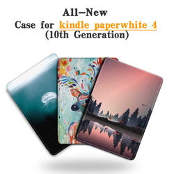 BOZHUORUI Magnetic Smart Cover for New 6 Inch kindle paperwhite 2018 eReader for Paperwhite 4 10th Generation Ultrathin Case