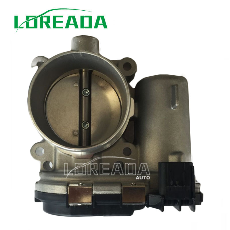 Loreada Throttle Body Assembly For Ford ESCAPE EXPLORER EDGE FOCUS FUSION MKZ TAURUS KUGA  0280750586 CM5E-9F991AD fit for ford mondeo focus explorer edge taurus kuga escort ecosport boot liner rear trunk cargo mat floor tray carpet