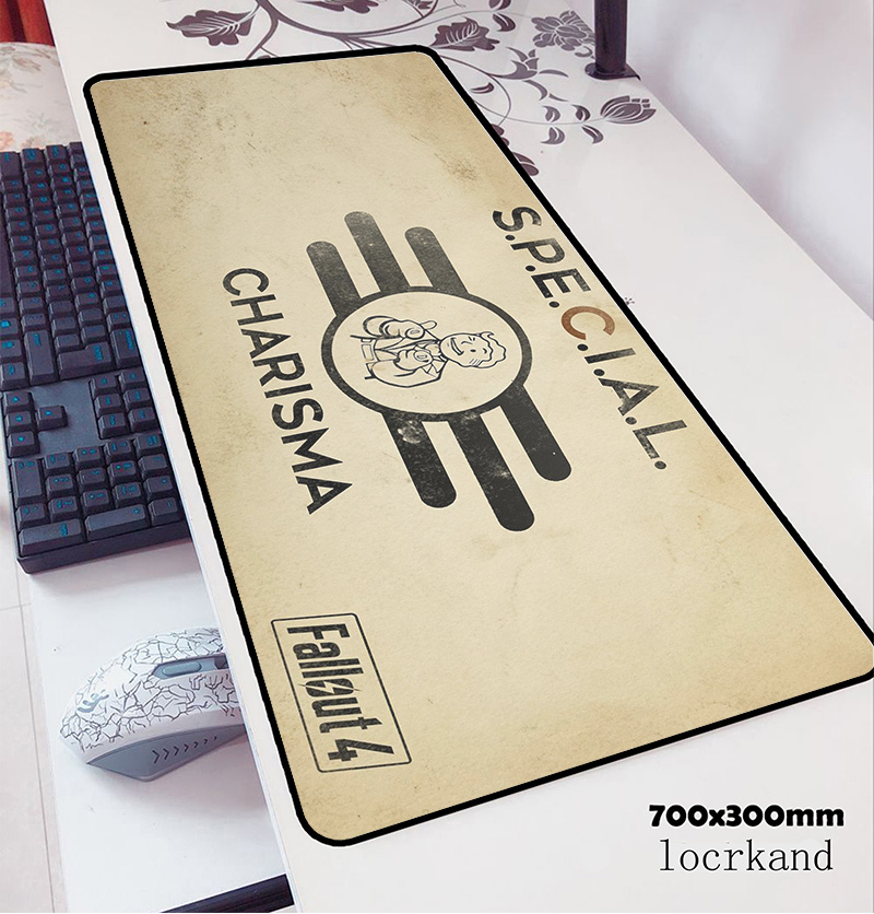 Fallout Mouse Pad 70x30cm Gaming Mousepad Anime Boy Gift Office Notbook Desk Mat Laptop Padmouse Games Pc Gamer Mats
