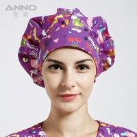 Cerrahi Tıbbi Kraliyet Baskı Kadınlar Kadınlar için Baskı Cerrahi Tıbbi Cerrahi Kapaklar Ayarlanabilir Şapkalar Caps ücretsiz nakliye Tops