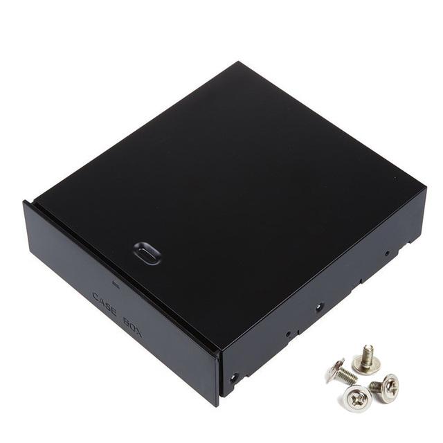 """Computadora de escritorio 5.25 """"caja de la Caja de Bastidor En Blanco Organizador Del Cajón para Dispositivos de Almacenamiento, Tarjetas de Memoria, USB Flash Drive, Accesorios"""