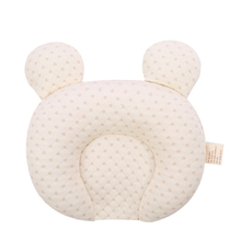 Natural Latex Filling Baby Shaping Pillow Prevent Flat Head Infant Bedding Pillows Cotton Newborn Baby Sleeping Pillow For 0-12M sale baby cushion nurse shaping pillow pure cotton help sleeping protect head development evidence adjustable ages of 1 and 3