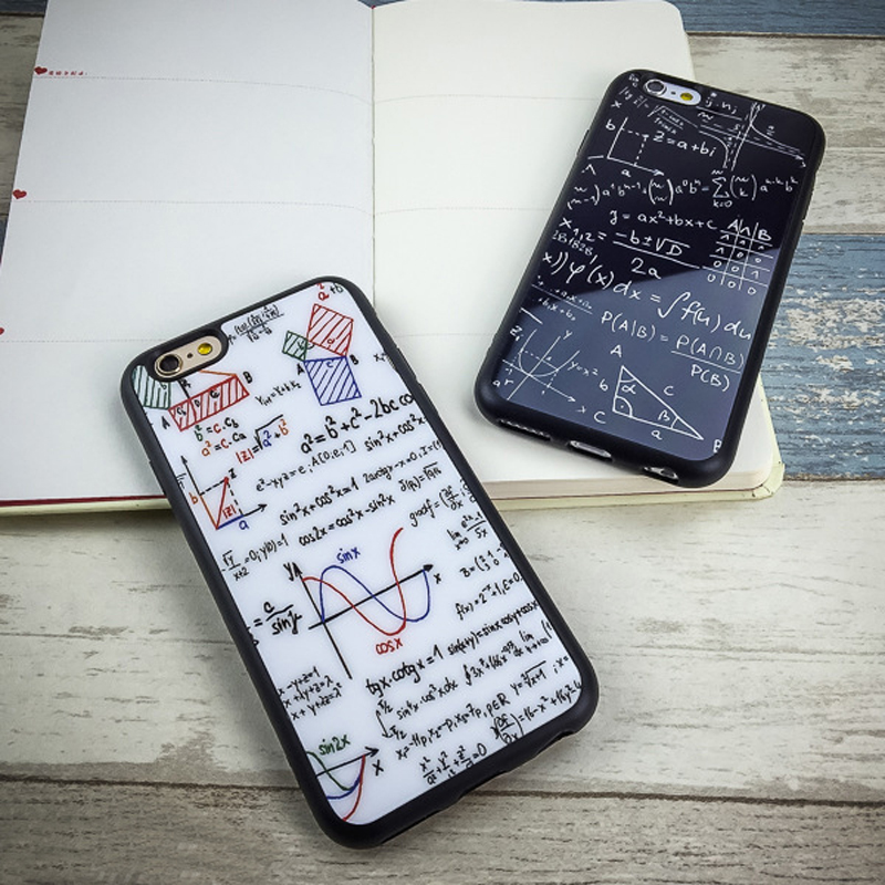 iPhone 7 6 6s plus X 8 8plus Silicone Soft Fashion painted Graffiti case 1
