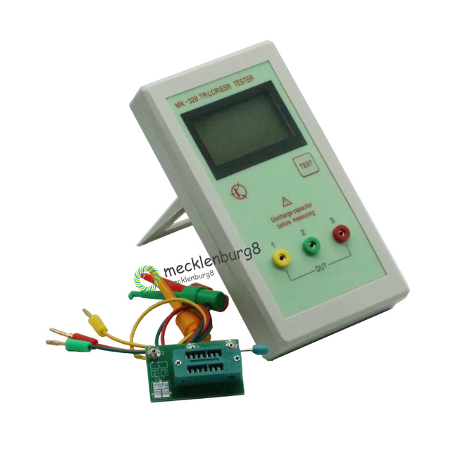 MK 328 ESR Meter Tester Transistor Inductance Capacitance Resistance LCR TEST MOS/PNP/NPN Automatic Detection Newest