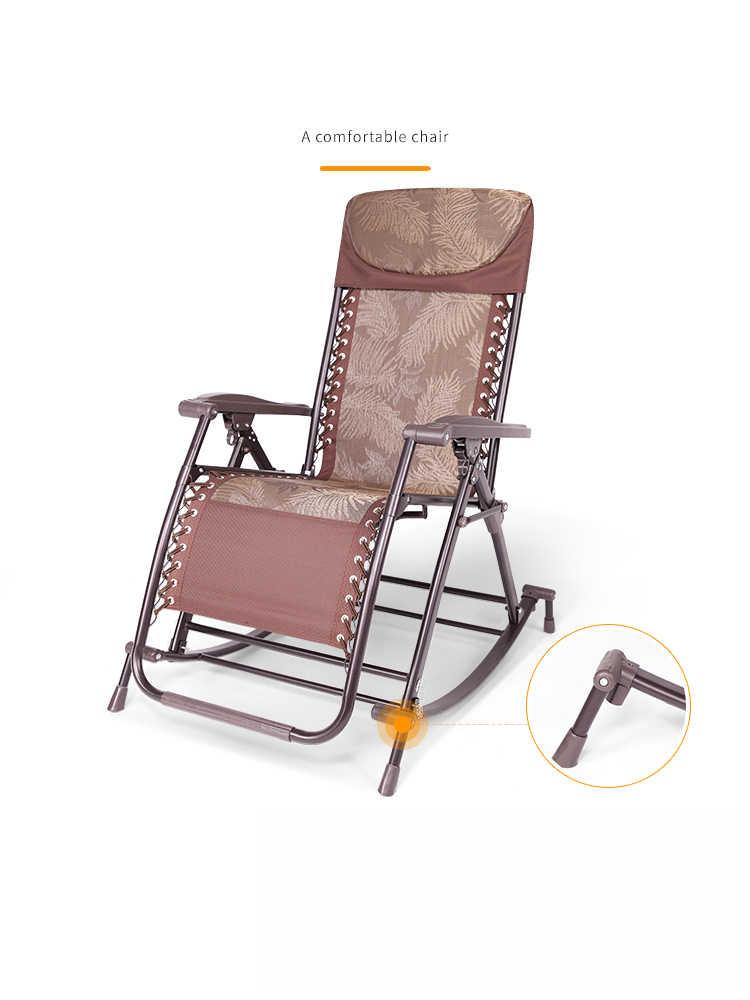 Astonishing A1Senior Rocking Chair High Back Armchair With Headrest For Elderly Portable Chaise Lounge Versatile Garden Outdoor Furniture Download Free Architecture Designs Xerocsunscenecom