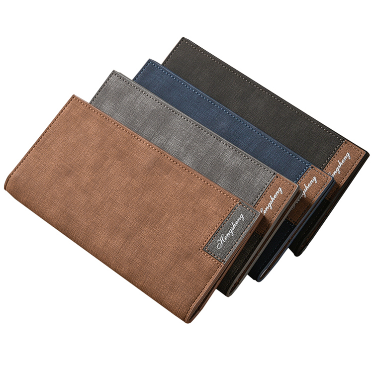 Men's Wallet Porte Money-Carteira Thin Slim Vintage Male for Feuille Hombre Masculina