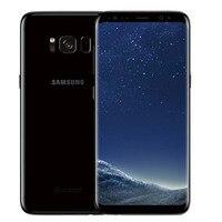 Samsung Galaxy S8 + S8 Plus G955U Оригинальный разблокированный LTE Android сотовый телефон Octa Core 6,2