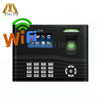 Door Access Control ZK IN01 Biometric Fingerprint Time Attendance And Access Control With WIFI TCP/IP USB With Backup Battery