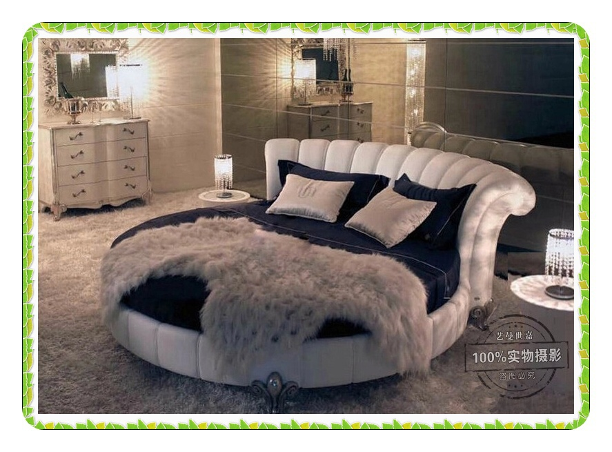 Europe Style High Density Velvet Round Bed Queen Bed Noble Fashion In Beds  From Furniture On Aliexpress.com | Alibaba Group