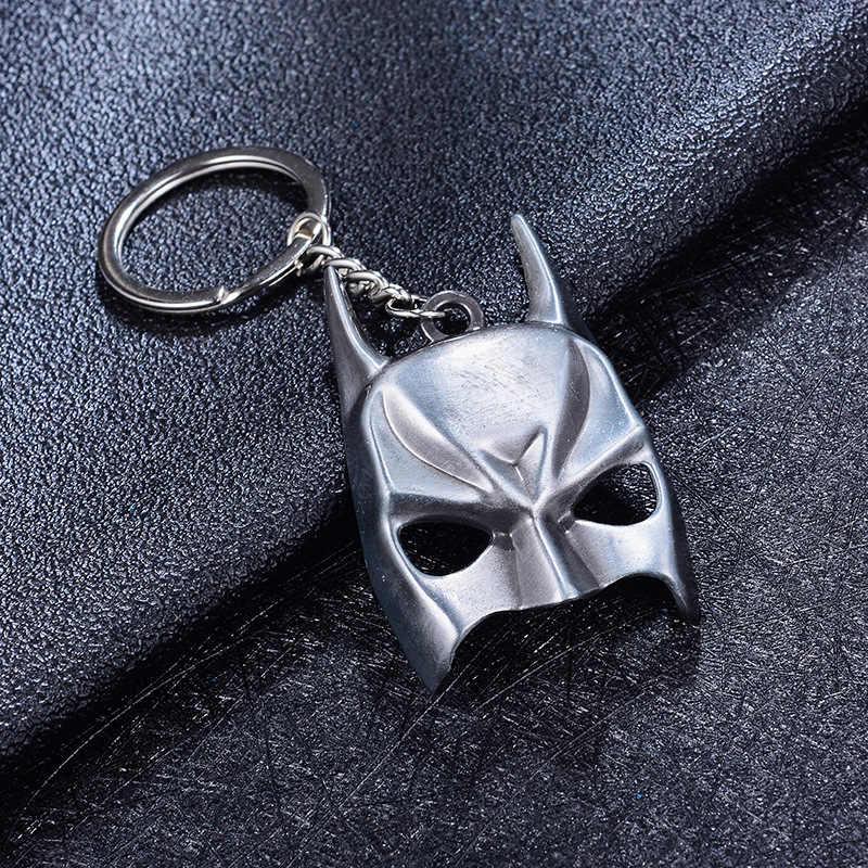 2019 Infinito Guerra Personagem do Filme Avengers Capitão América Escudo Da Liga Keychain Action Figure Chaveiro Chave Presente Cadeia Para MenBoy