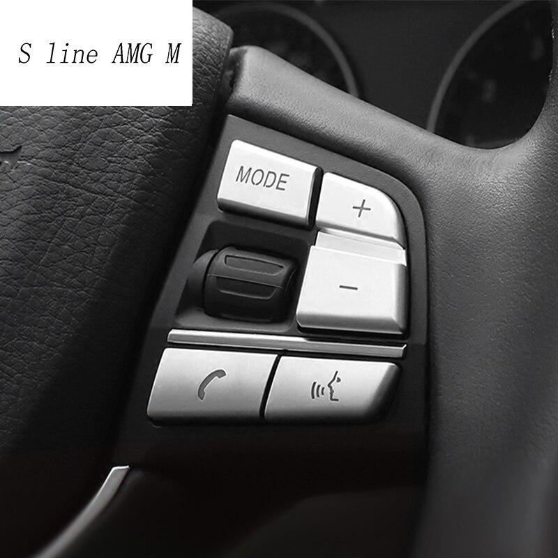 Autocollant de garniture de volant de volant de style de voiture pour BMW 1/2/3/4/5/7 série X1 X3 X5 F10 F20 F30 F34 F25 E70 accessoires
