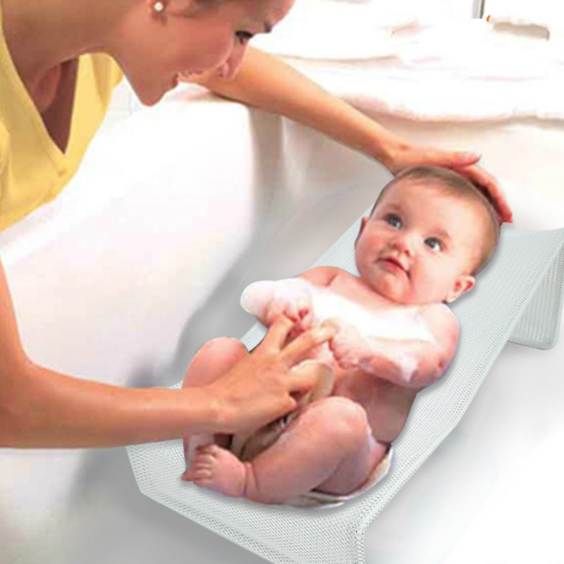 Goede Babybadje Rack Antislip Douche Bad Bed Frame Net Pasgeboren Baby Bad Baden Stoel Beugel Bag Winst Klein