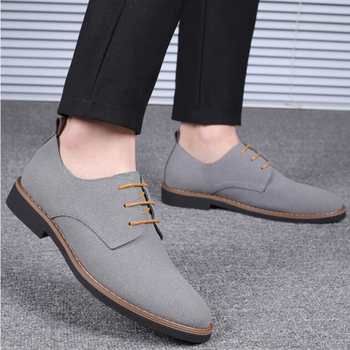 Men Driving Shoes   4 Colors Big Size 48-39 Man Leather Casual Shoes Suede Oxfords Handmade Men Sneaker Moccasins Male Driving Loafers