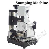 Tarjeta de PVC impresora máquina de estampación en caliente 110 V/220 V Tarjeta De Nombre máquina de bronceado de volquete de WTJ 90A|machine for|machine for stamping|machine machine -