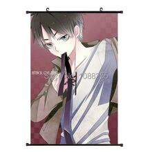 Shingeki no Kyojin Attack on Titan японский домашний декор плакат стены прокрутки EREN