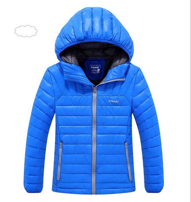 High quality boy winter sport leisure hooded long coat coat children winter warm cotton coat 8