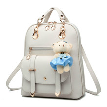 2019 new backpack Korean fashion casual woman's bag simple college wind backpack цена и фото