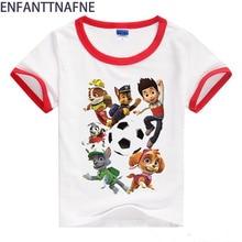 Jongens T-shirts Baby voor Kinderen Hond Katoen Zomer 2017 3D T-shirts voor Meisjes Kinderkleding Korte Mouw Meisjes Top Tees 12M-8T