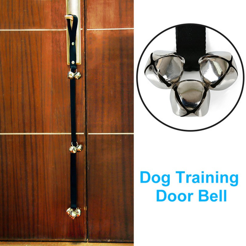 Dog Doorbells Premium Quality Training Potty Great Adjustable Dog Bells For Pot Pet doorbell rope Z in Other Dog Training Aids from Home Garden