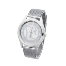 reloj mujer New fashion famous brand silver Ladies watch metal mesh stainless steel dress watches Casual quartz women