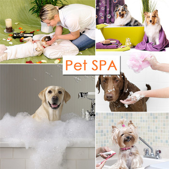 5pcs/bag Pet Dog SPA Bathing Carbonic Acid Effervescent Tablets  Deep Clean  Massage  Whole Body of  Pet  for   Beauty Salon 1