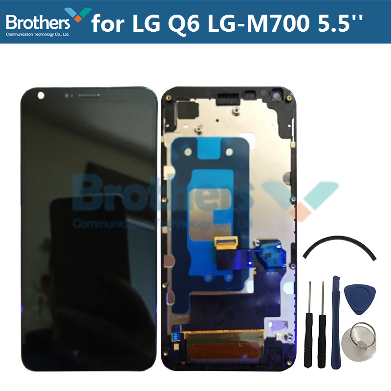 LCD Screen for LG Q6 LG-M700 LCD Display for LG Q6 LG-M700 M700 M700A LCD Assembly Touch Screen Digitizer 5.5 Black Tested TopLCD Screen for LG Q6 LG-M700 LCD Display for LG Q6 LG-M700 M700 M700A LCD Assembly Touch Screen Digitizer 5.5 Black Tested Top