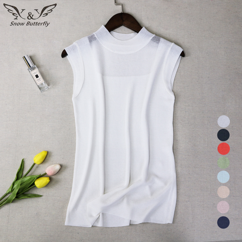 Ingenious 2019 Crop Tops Female Tank Women Cropped Tanktop Summer Shirt Female Clothes Sleeveless Bustier Crochet Short Kawaii Spring 461 Aesthetic Appearance