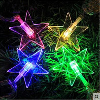 10M 100 LED Five Pointed Star Fairy Of Lights For Outdoor Wedding Decorations Inside Garden Party
