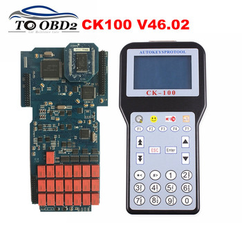 2019 Newest CK100 Auto Key Programmer CK-100 V46.02 OBD2 Key Transponder 46.02 Latest Generation of Silca SBB With 1024 Tokens