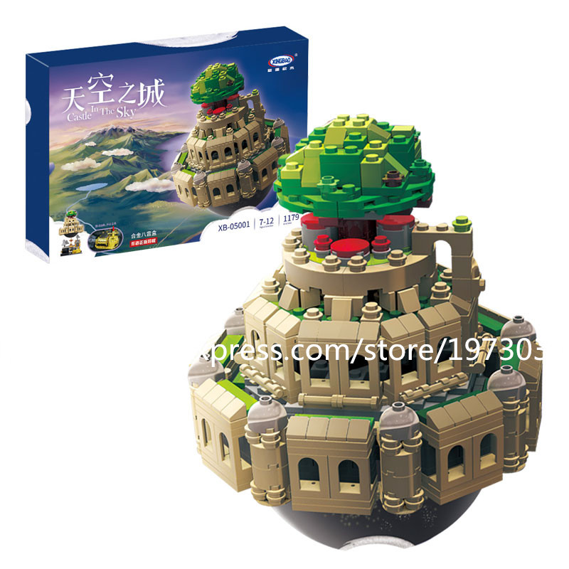 Model building kits compatible with lego City in The Sky Set  3D blocks Educational model building toys hobbies for children sluban model building kits compatible with lego city plane airport 845 3d blocks educational toys hobbies for children 026