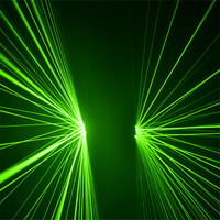 KS67 Rave dance led costumes green laser gloves dj wears laser men show projector disco outfits stage perform green beams gloves