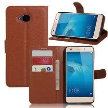 XINGDUO for Huawei Honor 5C Euro Version NO Fingerprint Hole Case Wallet Flip Cover PU Leather