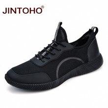 afefaaef03b JINTOHO Tamanho Grande Unissex Moda Verão Homens Sapatos Casuais Malha  Respirável Sapatos Masculinos Homens Tênis de Marca Tênis.