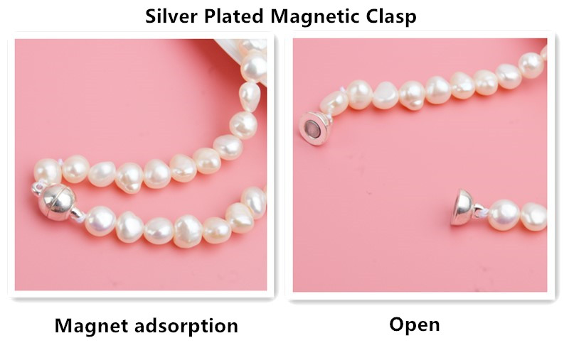 HTB1fdN MbvpK1RjSZPiq6zmwXXa8 ASHIQI Real Freshwater Pearl Jewelry set for Women with Pure 925 Sterling Silver Beads Handmade Necklace Bracelet Bridal Gift