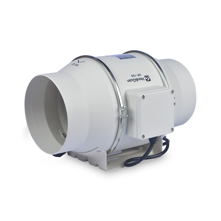 Inline Duct Vents : Quot turbo fan inline duct mixed flow ventilation