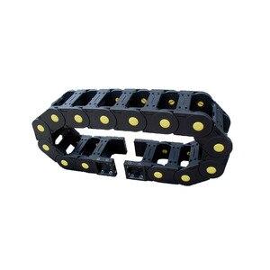 JFLO 20x60 Усиленная нейлоновая Тяговая цепь, тип моста, инженерная нейлоновая Тяговая цепь, защитная цепь для кабеля, бесплатная доставка