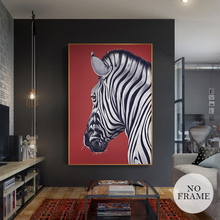 Buy zebra canvas and get free shipping on aliexpress hd nordic zebra canvas modern animal posters and prints altavistaventures Images