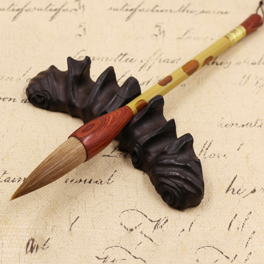Top pinceaux de calligraphie chinoise belette pinceau à cheveux stylo pour artiste peinture calligraphie aquarelle peinture art fournitures